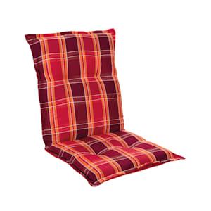 Prato, huzat, székhuzat, alacsony háttámla, kerti szék, poliészter, 50x100x8cm