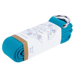 Siddha Yogagürtel Essential 250x3,8cm Baumwolle aufrollbar