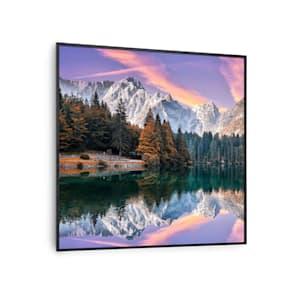 Wonderwall Air Art Smart, infrardeči grelnik | grelna plošča | 60 x 60 cm | 350 W | 7 m² | oblikovna sprednja stran | upravljanje z aplikacijami | tihi | stenska namestitev | daljinski upravljalnik | prijazno do alergikov | termostat |