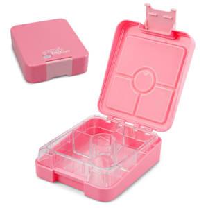 schmatzfatz easy, tízórais doboz, 4 rekesz, 18 x 15 x 5 cm (SZ x M x M)