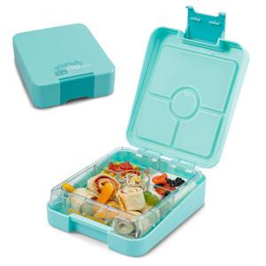 schmatzfatz easy, svačinkový box, 4 přihrádky,  18 × 15 × 5 cm