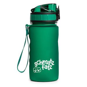 schmatzfatz Trinkflasche Sportflasche | 350 ml | kinderfreundlich  | auslaufsicher | mit Fruchtaufsatz | Höhe: 18 cm | Durchmesser: 7 cm |  mit Trageband | Kunststoff | BPA-frei