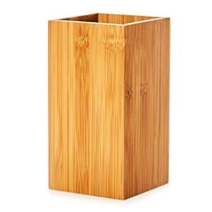 Porte-ustensiles carré 12 x 23 x 12 cm (LxHxP) bambou