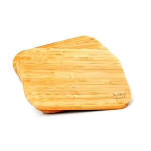 3dílná souprava, bambusové snídaňové desky, 22 x 1,15 x 15 cm (Š x V x H), snadná údržba