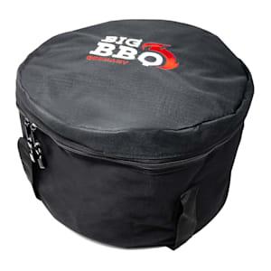 Chianina Dutch oven tas draagtas opbergtas | accessoire voor Dutch oven, braadpan, campingoven, vuurpot | vak voor accessoires | scheurvaste synthetische stof | maat L: voor 9,0 tot 9,0 Dutch oven