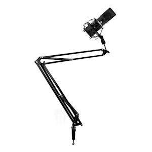 Set de estudio - Micrófono USB brazo y soporte para mesa negro