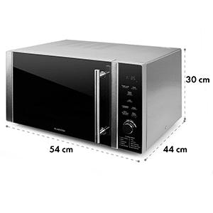mikrohullámú sütő szett, 1 x Klarstein Luminance Prime mikrohullámú sütő 900 W + 1 x tartó