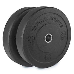 Renit Hi Temp Bumper Plates 50,4 mm Aluminiumkärna Gummi 2x20kg