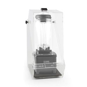 Herakles 4G Frullatore Nero con Cover 1500W 2,0 CV 2 Litri senza BPA