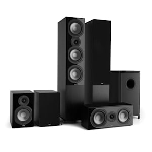 Reference 851 5.1-Soundsystem Nero incl. Cover Nera