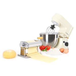 Carina Pasta Set machine à pâtes & robot de cuisine 800W bol 4l