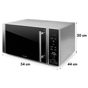 Klarstein Luminance Prime mikrovlnkový Buddy Set mikrovlnka + gril | výhrevné platne