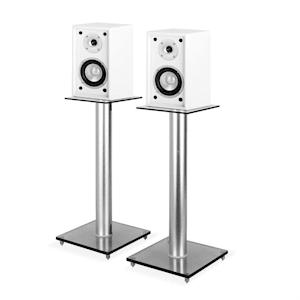 4-piece Hifi Set | Shelf Speaker Pair + Stands