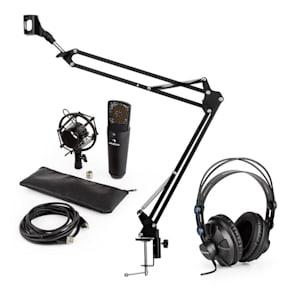 MIC-920B USB Mikrofon-Set V3 Studiokopfhörer Kondensatormikro Mikrofonarm
