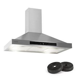 Zelda, kuhinjska napa, 90 cm, recirkulacijsko delovanje, 620 m³/u, filter z aktivnim ogljem