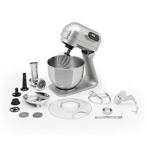 Curve Plus Set robot de cuisine mulitfonction 5L + hachoir - argent