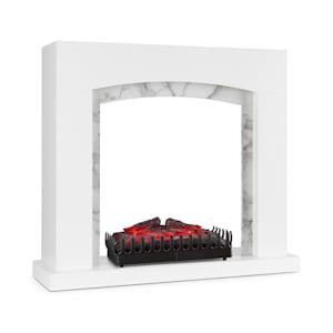 Habillage de cheminée Studio Frame II + insert de cheminée Kamini MDF en design classique