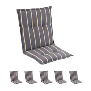 Sylt Polsterauflage Sesselauflage Hochlehner Kopfkissen Polyester 50x120x9cm