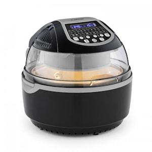 VitAir Deep Fryer 1400 W Reduced Fat Frying Baking Grilling Roasting Black