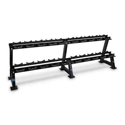 Cando Floor Rack support haltères 20 haltères Capacité