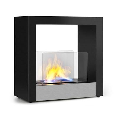 Klarstein Phantasma Cube Ethanol, Ethanol Burning Fireplace