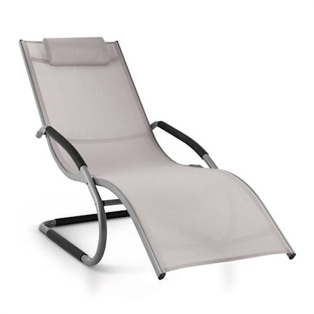 La Sdraio O Lo Sdraio.Blumfeldt Sunwave Sedia Sdraio Da Giardino Relax In Alluminio
