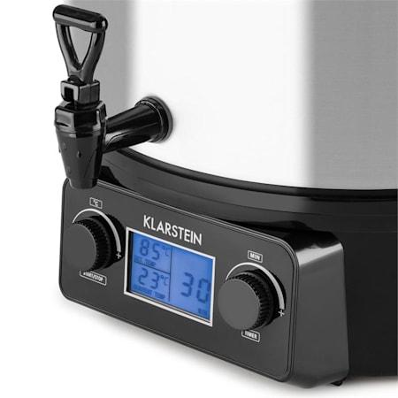 Klarstein Biggie Digital, befőzőautomata, befőző fazék, 27 l