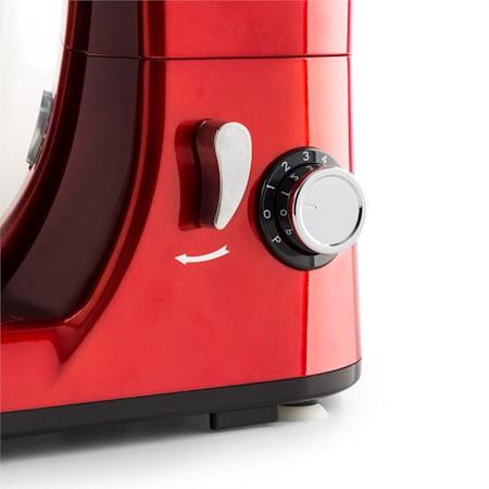 Bella Pico Mini Robot De Cuisine 4 Litres 550 800w 6 Vitesses Rouge