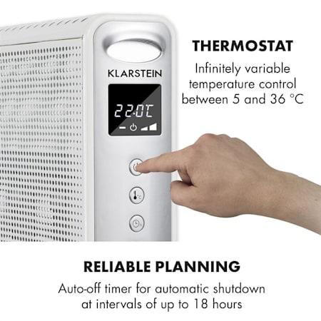 Klarstein Hot Spot Wave Heater, 2500