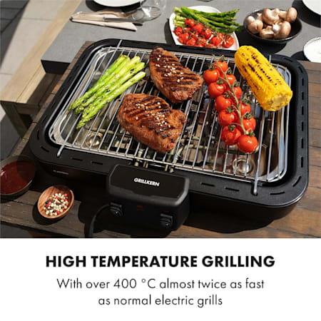 Klarstein Grillkern el grill 1900+800W dubbelelement