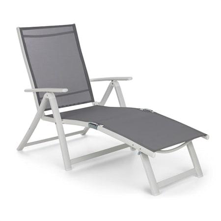 La Sdraia O La Sdraio.Blumfeldt Pomporto Lounge Sedia A Sdraio In Pvc Pe Alluminio 7