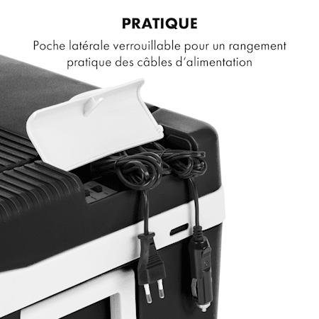 Klarstein Survivor 50 Glacière congélateur portable 50L 22 à 10°C Classe A++