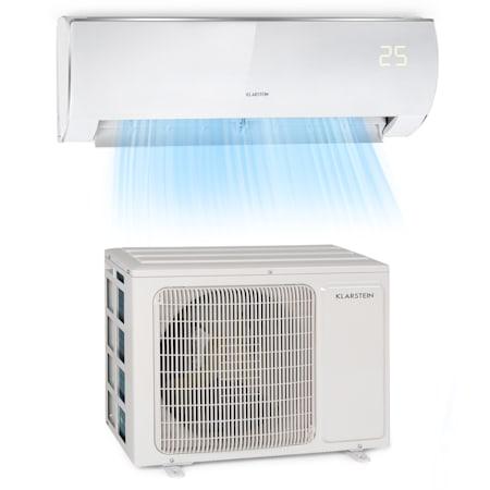 Klarstein Windwaker Eco Split Air Conditioner 9 000 Btu 2 7 Kw 610 M H Max A