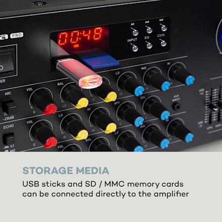 KAPAYONO TA7240AP Amplificatore per unit/à Un Nastro 2.0 Preamplificatore per Testina Un Nastro Magnetico Amplificatore per Preamplificatore per Scheda per Microfono 2X5.8W