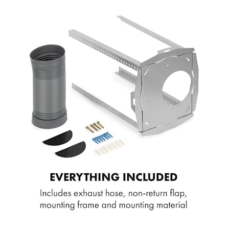 3 Levels Air Circulation: 641 m/³ // h Max Klarstein Structura White EEC: A LED 41 x 35.5 cm Optional Activated Carbon Filters Exhaust Air//Recirculated Air Island Extractor Hood