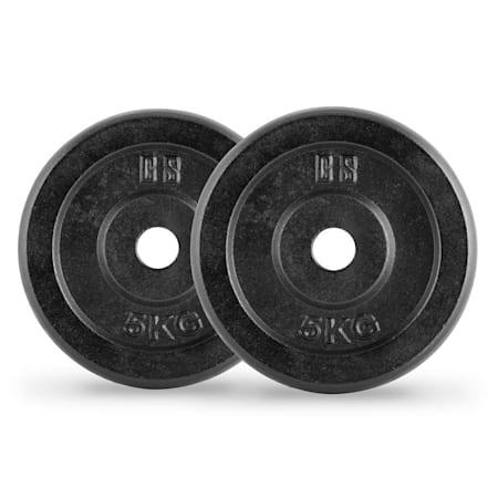 Coppia di Dischi Peso Capital Sports Elongate 15 Bumper Plate 2 x 15 kg