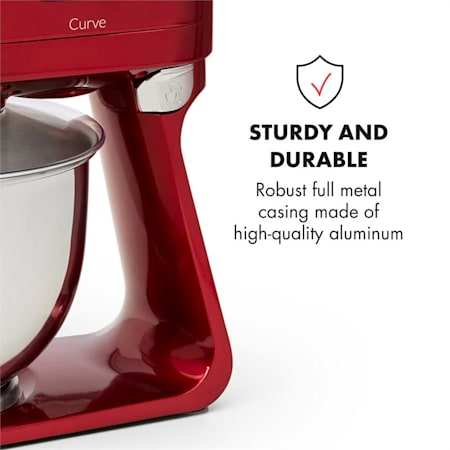 Klarstein Curve Plus, konyhai robotgép, 5 l, 4 az 1 ben
