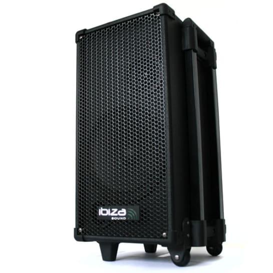 PORT-8-MINI, mobilní aktivní PA systém, CD MP3 přehrávač, USB