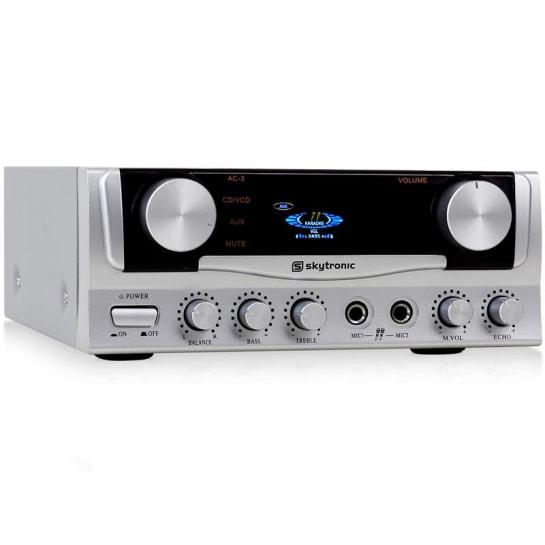 Compact Hi-Fi Stereo PA Karaoke Amplifier 400W AUX