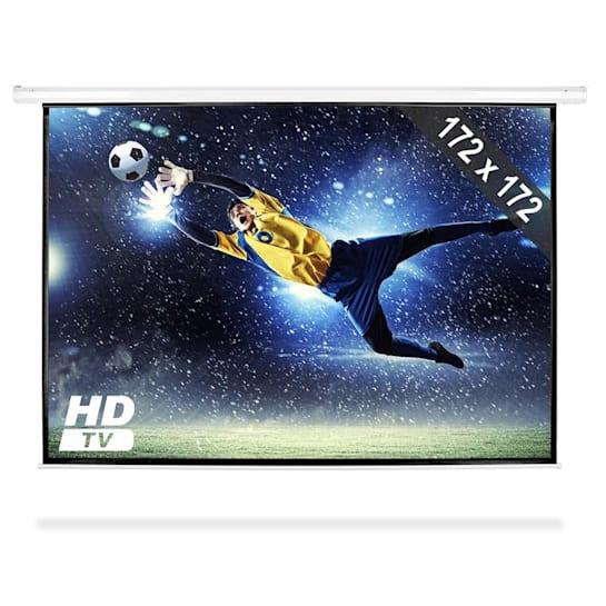 PSAB-96, motorizované projekčné plátno, beamer, HDTV, 172x172 cm, 1:1