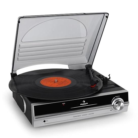 TBA-928 Vinyl Turntable LP Player Built-in Speakers