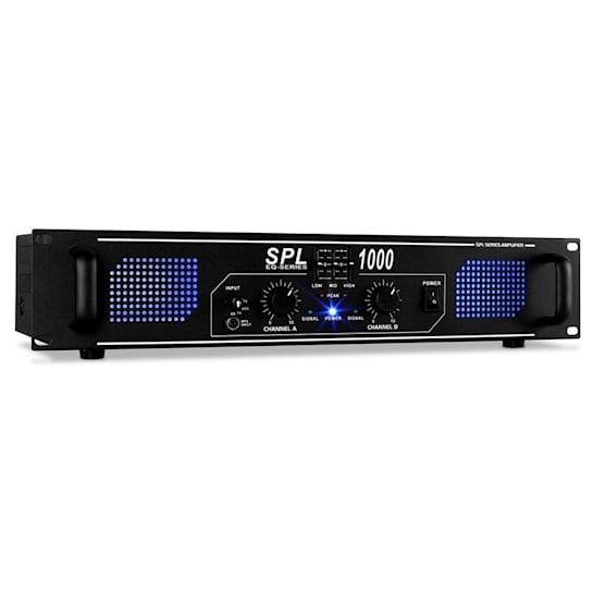 SPL1000 Amplificatore DJ PA Equalizzatore 2800W