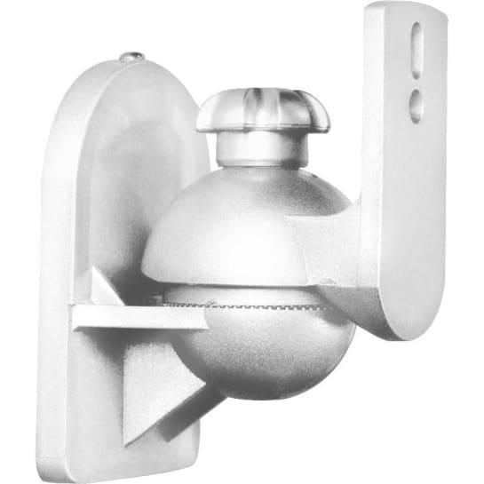 Paar Lautsprecherhalter weiß <3,5kg Heimkino HiFi
