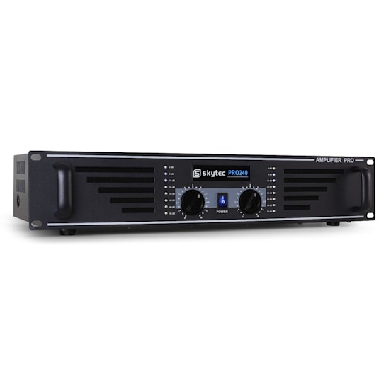 SKY-240 Amplificatore Audio 2 x 240W max. Nero