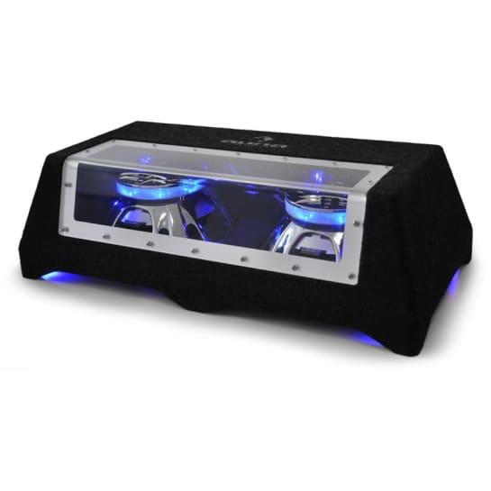 "CB250-50 Auto-Subwoofer 2 x 25cm (2 x 10"") 2 x 600W LED-Lichteffekt"