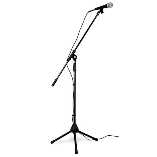 Microfono professionale+supporto e cavo XLR