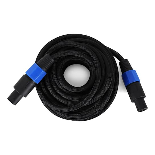 10 Meter Audio PA Cable - Male to Male Kink Protected