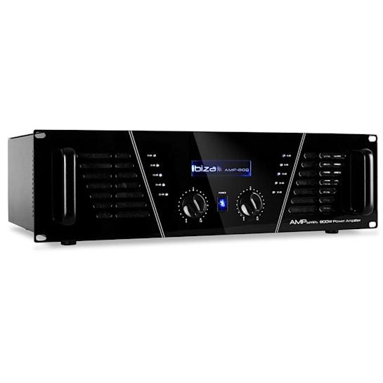 dj pro amplificatore rack 1200W mosfet pa 48cm