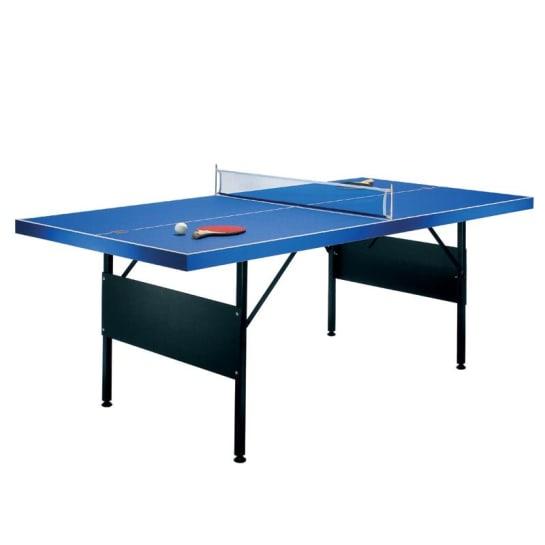 Asztalitenisz asztal 183 x 71 x 91 cm, két teniszütő
