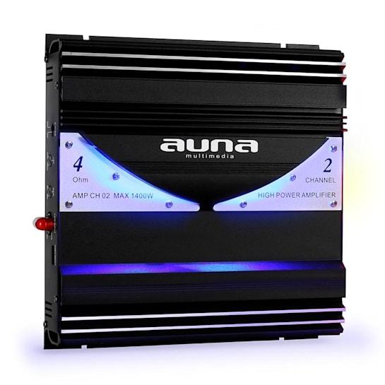 AMP-CH02 2-kanavainen autovahvistin 1 400 W